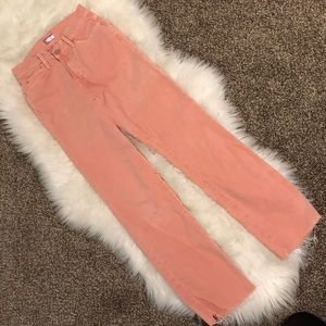mother rascal ankle snippet pants